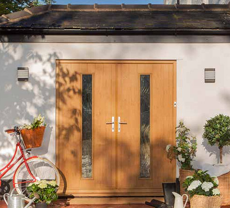 Solidor Composite French Doors