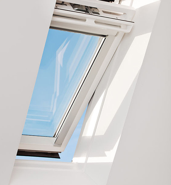Velux gallery of new generation velux facade window vfe for How to clean velux skylights